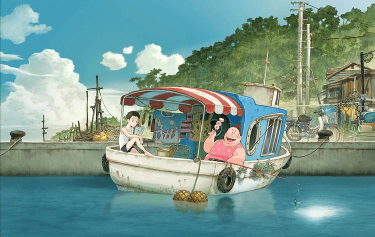 "Legendary Comedian Sanma-san to Produce Animated Film ""Gyokou no Nikuko-chan"", Stars Natsuki Hanae"