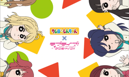 """Crayon Shin-chan"" x ""Love Live! Sunshine!!"" Collab Merch Line Unveiled!"
