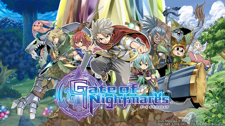 """Hiro Mashima and Square Enix Collaborate on New Mobile Game """"Gate of Nightmares""""!"""