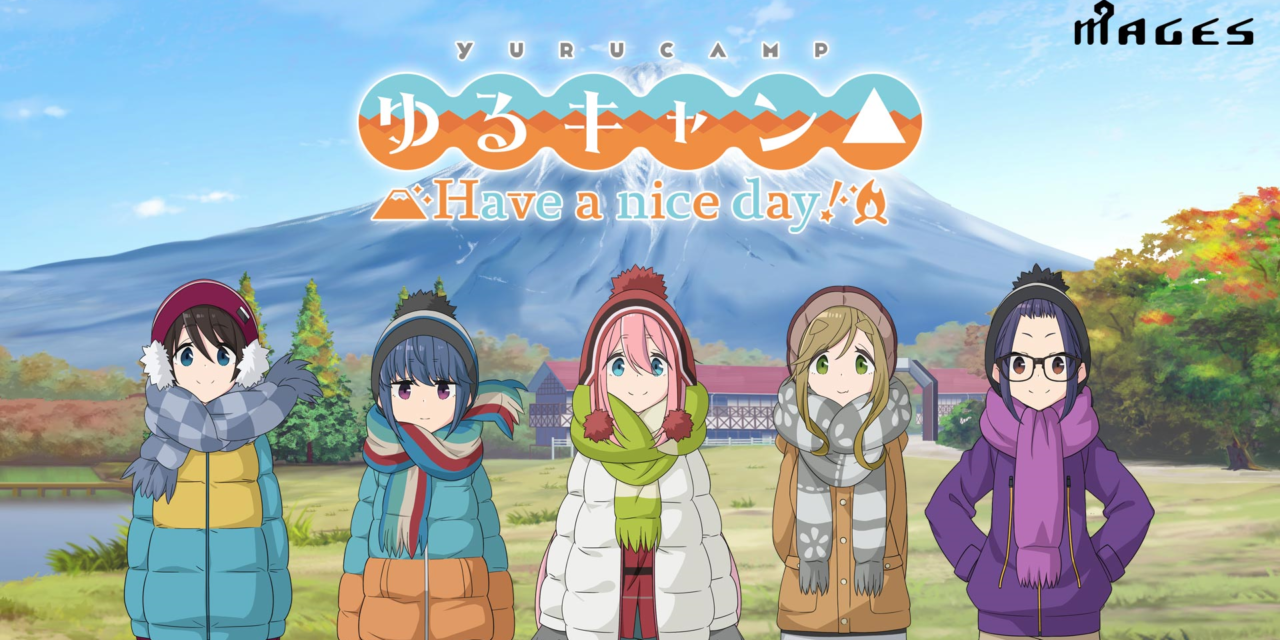 """""""Yurucamp△ Have a nice day!"""" Out for the PlayStation 4 and Switch 30th September"""