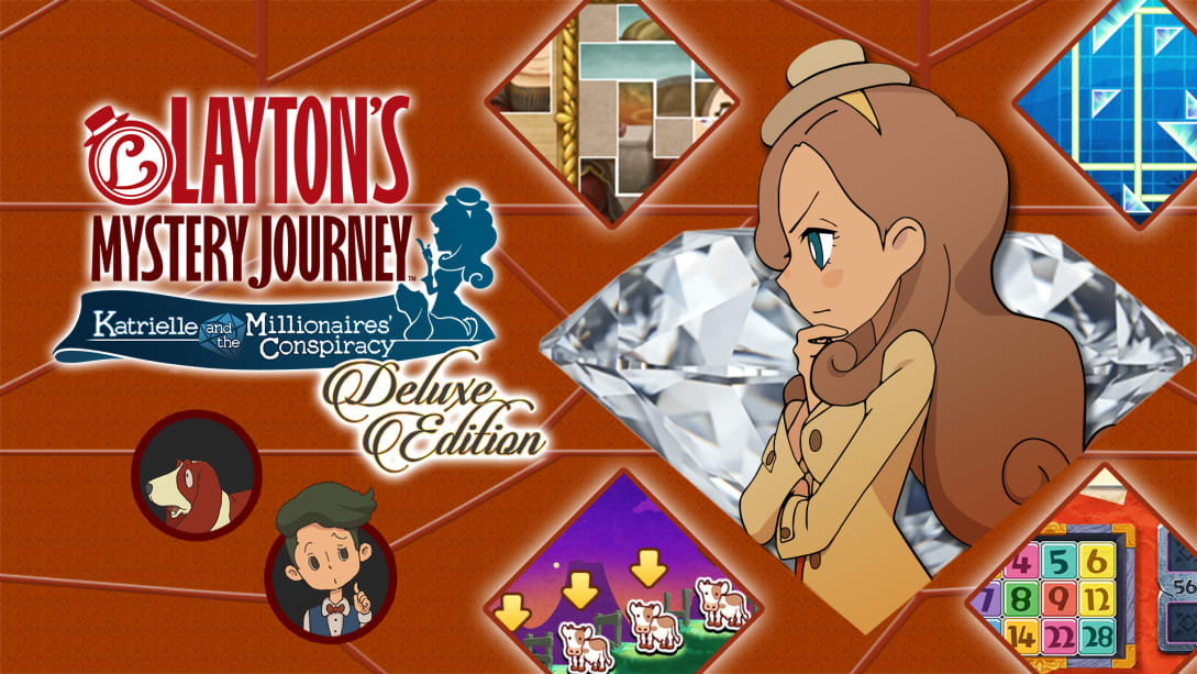 """TV Anime Seiyuu Voices Added to """"LAYTON'S MYSTERY JOURNEY"""", Out July 2021"""