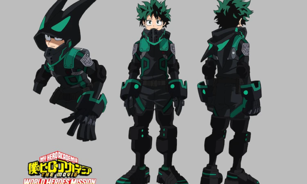 "Check Out the New Stealth Suits from the Upcoming ""HeroAca"" Films!"