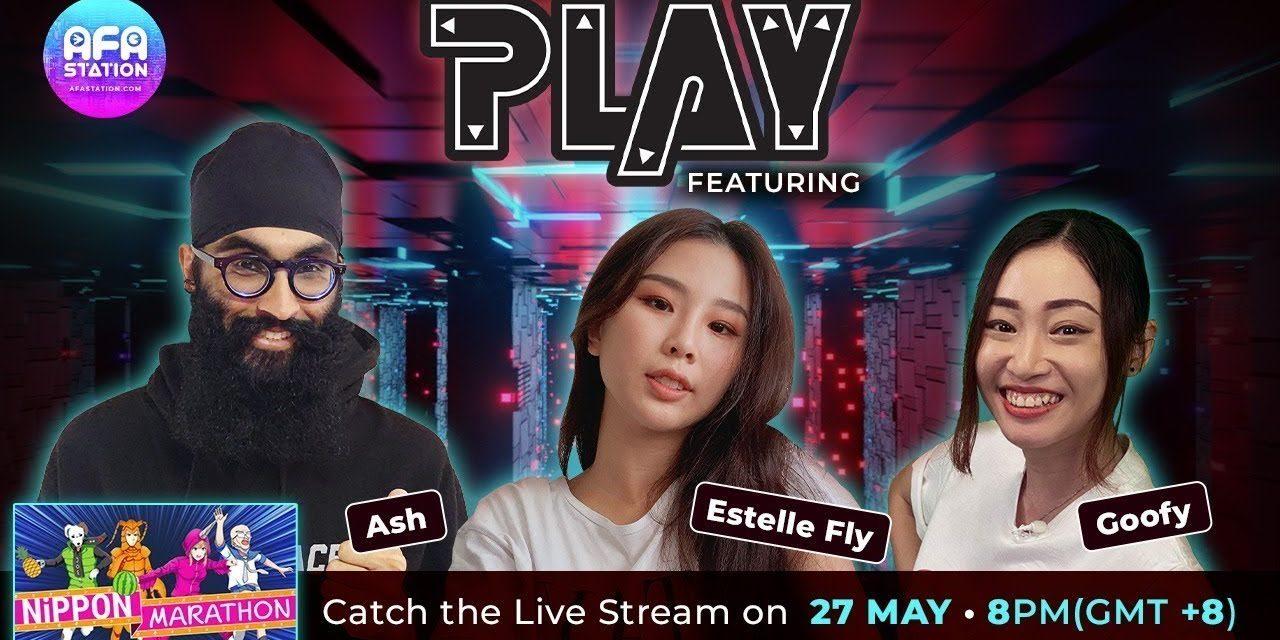 Join Estelle and Ash plus Goofy on AFA Station TV PLAY Tonight!