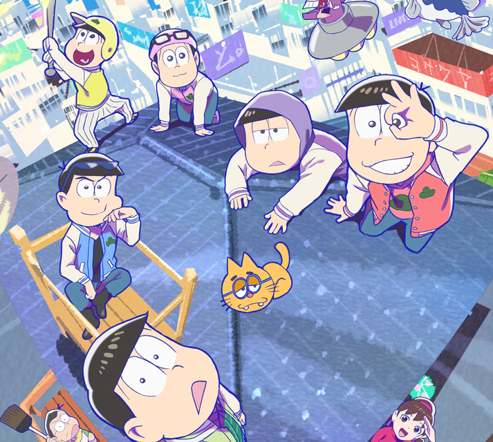 """Two-Part """"Osomatsu-san"""" Anime Announced for 2022 and 2023!"""