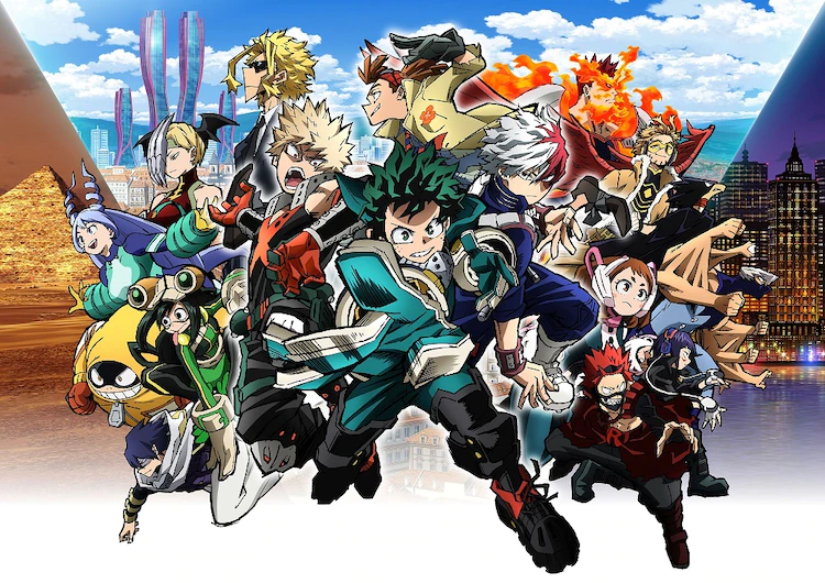 """""""My Hero Academia THE MOVIE World Heroes Mission"""" Unveils New Trailer, Theme Song by ASIAN KUNG-FU GENERATION"""