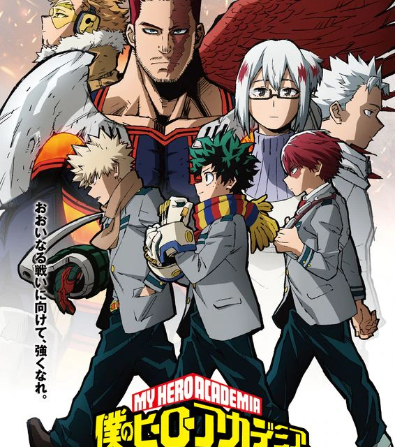 """""""HeroAca"""" S5 2nd Cour Drops PV feat. New Theme Song by MAN WITH A MISSION"""