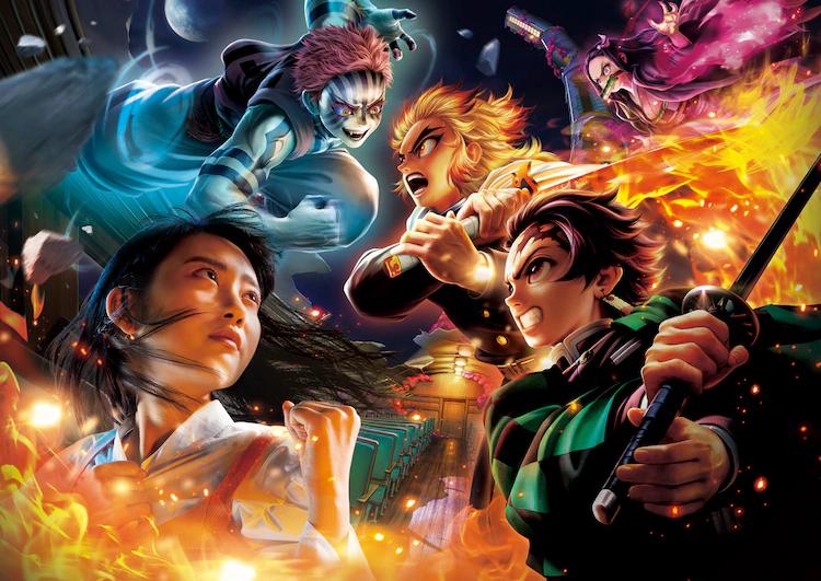 "More Details Revealed for Universal Studios Japan ""Kimetsu no Yaiba"" Attraction"
