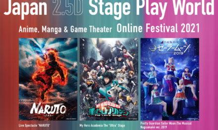 """Naruto"", ""HeroAca"", and ""Sailormoon Nogizaka46 Ver. 2019"" 2.5D Musicals to be Streamed Overseas!"