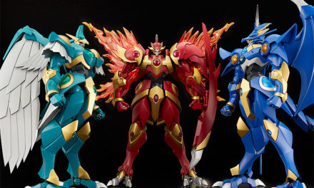 """GSC Launches """"Magic Knight Rayearth"""" MODEROID LINE — One of Each, Please!"""