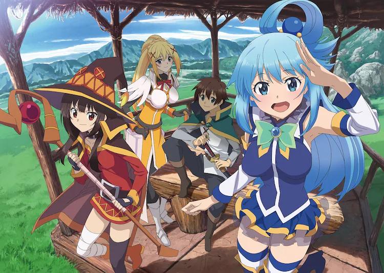 """""""Kono Subarashii Sekai ni Shukufuku o!"""" Gets New Anime!"""
