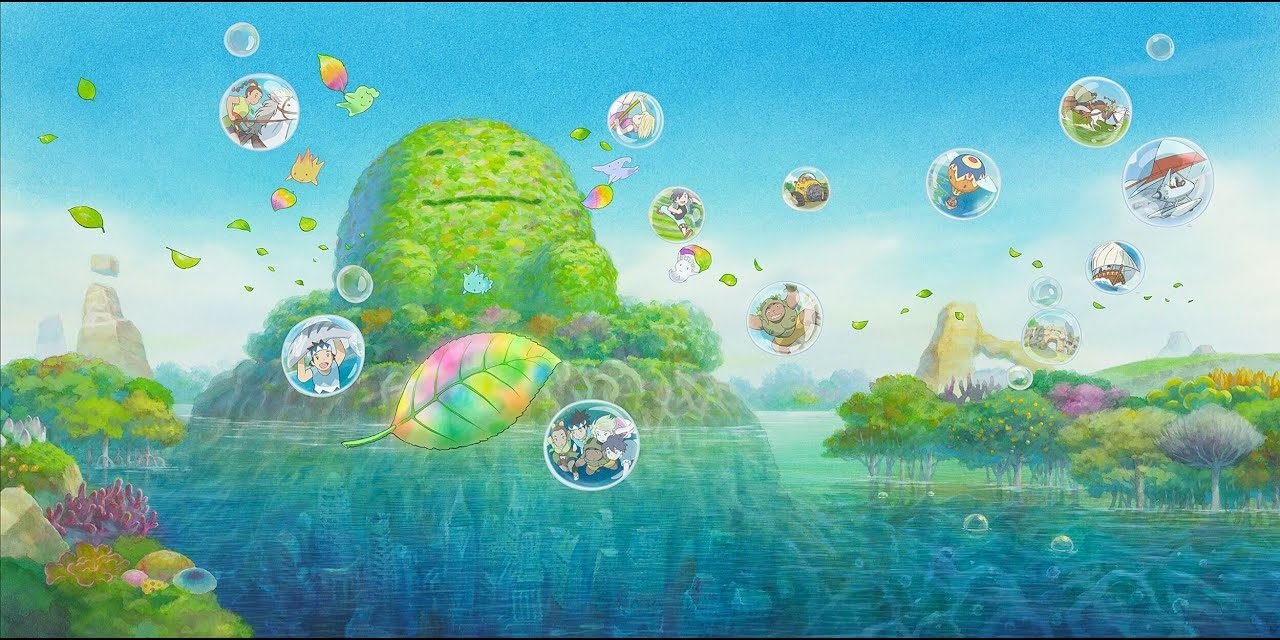 """Olympic Foundation for Culture and Heritage Commissions Studio Ponoc for """"Tomorrow's Leaves"""""""