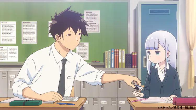 """""""Aharen-san wa Hakarenai"""" TV Anime Announced for 2022!"""