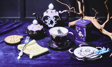 """Spill the Tea Like a Disney Villain! Check Out the """"Ursula""""-themed Tea from Japanese Brand LUPICIA!"""