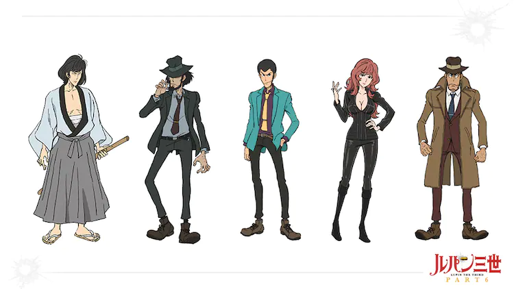 """""""Lupin III PART 6"""" Drops New PV!"""