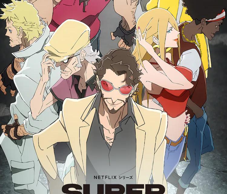 "Kenjiro Tsuda and Maaya Sakamoto Star in Netflix Adaptation of Mark Villar's ""Super Crooks"""