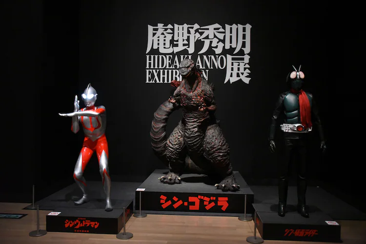 """Check Out These Photos from the """"Hideaki Anno Exhibition""""!"""