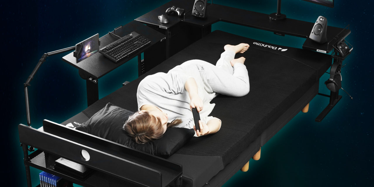You've Heard of the Gaming Chair — Now Get Ready for the Gaming Bed!
