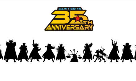 """""""Saint Seiya"""" Drops New Logo for 35th Anniversary, Upcoming Projects Teased"""